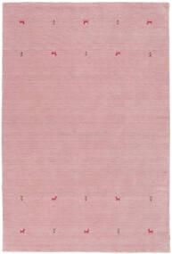 Gabbeh Loom Two Lines - Roosa Matto 190X290 Moderni Vaaleanpunainen (Villa, Intia)