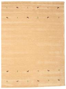 Gabbeh Loom Two Lines - Beige Matto 190X290 Moderni Tummanbeige/Vaaleanruskea (Villa, Intia)