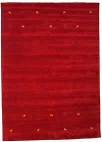Gabbeh Loom Two Lines - Punainen Matto 240X340 Moderni Punainen/Tummanpunainen (Villa, Intia)
