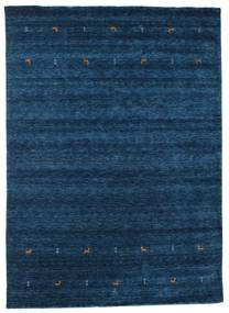 Gabbeh Loom Two Lines - Tummansininen Matto 240X340 Moderni Tummansininen (Villa, Intia)