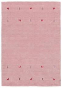 Gabbeh Loom Two Lines - Roosa Matto 160X230 Moderni Vaaleanpunainen (Villa, Intia)