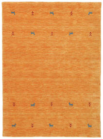 Gabbeh Loom Two Lines - Oranssi Matto 140X200 Moderni Oranssi (Villa, Intia)