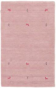 Gabbeh Loom Two Lines - Roosa Matto 100X160 Moderni Vaaleanpunainen (Villa, Intia)