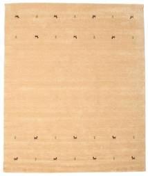 Gabbeh Loom Two Lines - Beige Matto 240X290 Moderni Vaaleanruskea/Keltainen (Villa, Intia)