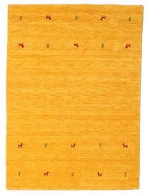 Gabbeh Loom Two Lines - Keltainen Matto 140X200 Moderni Keltainen/Oranssi (Villa, Intia)