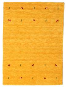 Gabbeh Loom Two Lines - Keltainen Matto 140X200 Moderni Oranssi (Villa, Intia)
