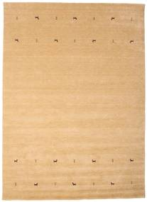 Gabbeh Loom Two Lines - Beige Matto 240X340 Moderni Tummanbeige/Vaaleanruskea (Villa, Intia)