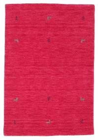 Gabbeh Loom Two Lines - Cerise Matto 100X160 Moderni Punainen/Pinkki (Villa, Intia)