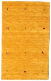 Gabbeh Loom Two Lines - Keltainen Matto 100X160 Moderni Keltainen/Oranssi (Villa, Intia)
