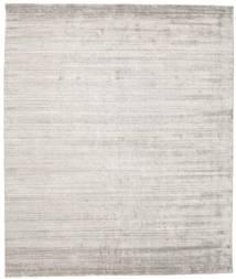 Bamboo Silkki Loom - Warm Harmaa Matto 250X300 Moderni Vaaleanharmaa Isot ( Intia)