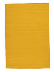 Kelim Loom - Keltainen Matto 160X230 Moderni Käsinkudottu Oranssi/Keltainen (Villa, Intia)