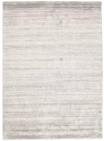 Bamboo Silkki Loom - Warm Harmaa Matto 140X200 Moderni Vaaleanharmaa ( Intia)