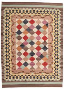 Kelim Caspian Matto 160X230 Moderni Käsinkudottu Vaaleanruskea/Beige (Villa, Intia)