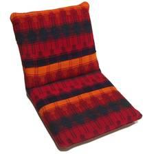 Kelim Sitting Cushion Matto 60X110 Itämainen Käsinkudottu (Villa, Persia/Iran)