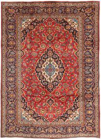Keshan Matto 248X344 Itämainen Käsinsolmittu Tummanpunainen/Ruoste (Villa, Persia/Iran)