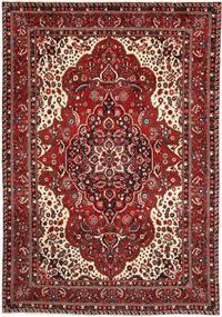 Bakhtiar Matto 217X314 Itämainen Käsinsolmittu Tummanpunainen/Tummanruskea (Villa, Persia/Iran)