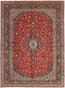 Keshan Matto 298X406 Itämainen Käsinsolmittu Tummanruskea/Tummanpunainen Isot (Villa, Persia/Iran)