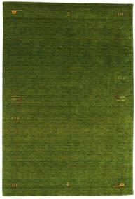 Gabbeh Loom Frame - Vihreä Matto 190X290 Moderni Tummanvihreä (Villa, Intia)