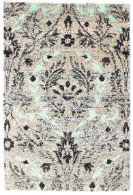 Lennox Matto 120X180 Moderni Käsinsolmittu Vaaleanharmaa/Beige (Silkki, Intia)
