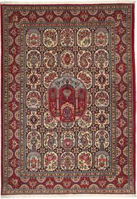 Ghom Sherkat Farsh Matto 170X240 Itämainen Käsinsolmittu Tummanpunainen/Tummanharmaa (Villa, Persia/Iran)