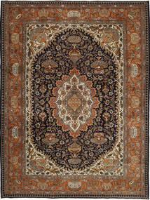 Kashmar Patina Matto 253X340 Itämainen Käsinsolmittu Tummanruskea/Ruskea Isot (Villa, Persia/Iran)
