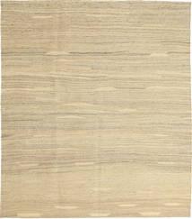 Kelim Moderni Matto 157X183 Moderni Käsinkudottu Tummanbeige/Beige (Villa, Persia/Iran)
