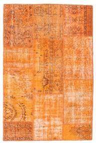 Patchwork Matto 121X184 Moderni Käsinsolmittu Oranssi (Villa, Turkki)