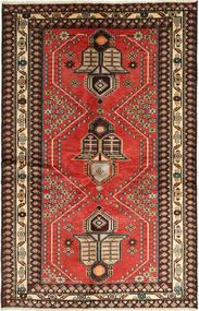 Saveh Matto 130X195 Itämainen Käsinsolmittu Vaaleanruskea/Tummanruskea (Villa, Persia/Iran)