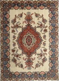 Tabriz Patina Matto 246X339 Itämainen Käsinsolmittu Vaaleanruskea/Tummanbeige (Villa, Persia/Iran)