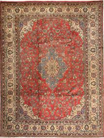 Hamadan Shahrbaf Matto 284X363 Itämainen Käsinsolmittu Vaaleanruskea/Tummanruskea Isot (Villa, Persia/Iran)