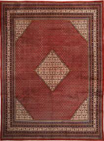 Sarough Mir Matto 292X400 Itämainen Käsinsolmittu Tummanpunainen/Tummanruskea Isot (Villa, Persia/Iran)