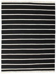 Dorri Stripe - Musta/Valkoinen Matto 200X250 Moderni Käsinkudottu Musta (Villa, Intia)