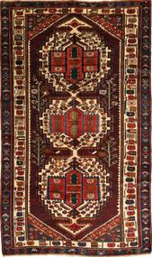 Bakhtiar Matto 156X280 Itämainen Käsinsolmittu Tummanruskea/Tummanpunainen (Villa, Persia/Iran)