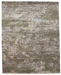 Damask Matto 242X304 Moderni Käsinsolmittu Vaaleanharmaa/Tummanharmaa ( Intia)