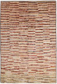 Barchi/Moroccan Berber Matto 189X291 Moderni Käsinsolmittu Tummanruskea/Tummanpunainen (Villa, Afganistan)