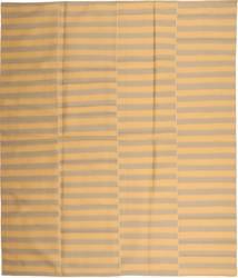 Kelim Moderni Matto 230X270 Moderni Käsinkudottu Tummanbeige/Vaaleanruskea (Villa, Persia/Iran)