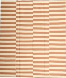 Kelim Moderni Matto 223X260 Moderni Käsinkudottu Beige/Vaaleanruskea (Puuvilla, Persia/Iran)