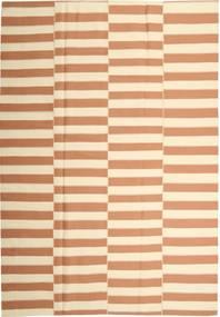 Kelim Moderni Matto 221X313 Moderni Käsinkudottu Beige/Vaaleanruskea (Puuvilla, Persia/Iran)