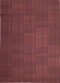 Kelim Moderni Matto 212X295 Moderni Käsinkudottu Tummanvioletti/Violetti (Villa, Persia/Iran)