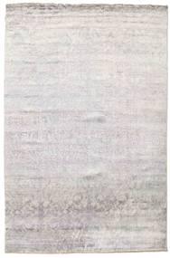 Damask Matto 199X301 Moderni Käsinsolmittu Vaaleanharmaa/Beige ( Intia)