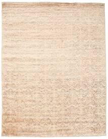 Damask Matto 234X301 Moderni Käsinsolmittu Beige/Keltainen ( Intia)