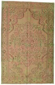 Colored Vintage Matto 183X284 Moderni Käsinsolmittu Vaaleanruskea/Vaaleanvihreä (Villa, Turkki)