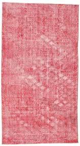 Colored Vintage Matto 152X278 Moderni Käsinsolmittu Pinkki/Vaaleanpunainen (Villa, Turkki)