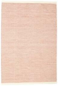Seaby - Ruoste Matto 160X230 Moderni Käsinkudottu Vaaleanpunainen/Valkoinen/Creme (Villa, Intia)