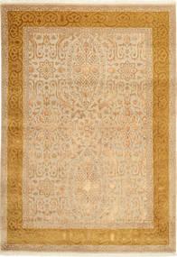 Tabriz Royal Magic Matto 169X245 Itämainen Käsinsolmittu Vaaleanruskea/Beige/Tummanbeige ( Intia)