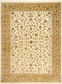 Tabriz Royal Magic Matto 174X235 Itämainen Käsinsolmittu Beige/Vaaleanruskea ( Intia)