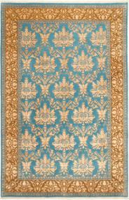 Tabriz Royal Magic Matto 200X310 Itämainen Käsinsolmittu Vaaleanruskea/Tummanbeige ( Intia)