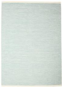 Seaby - Sininen Matto 250X350 Moderni Käsinkudottu Siniturkoosi/Valkoinen/Creme Isot (Villa, Intia)