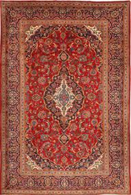 Keshan Matto 212X320 Itämainen Käsinsolmittu Tummanruskea/Ruoste (Villa, Persia/Iran)