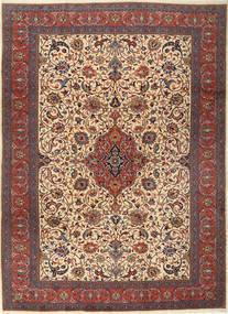 Sarough Matto 255X355 Itämainen Käsinsolmittu Tummanpunainen/Tummanruskea Isot (Villa, Persia/Iran)